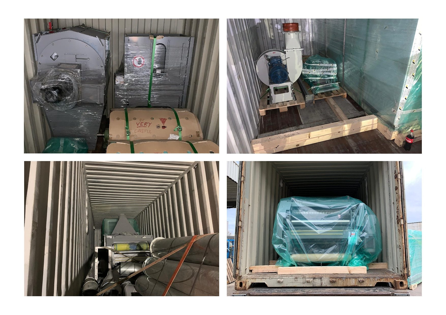 recently shipped rag tearing line